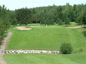 Club de golf lac m gantic estrie qu bec tarifs for Golf du bic forfait